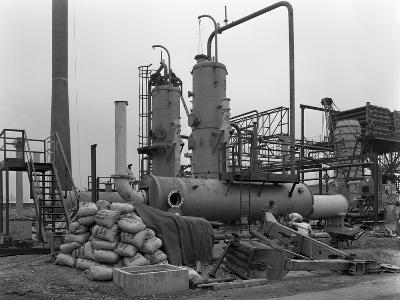 Sulphur Recovery Plant under Construction at the Coleshill Gas Works, Warwickshire, 1962-Michael Walters-Photographic Print