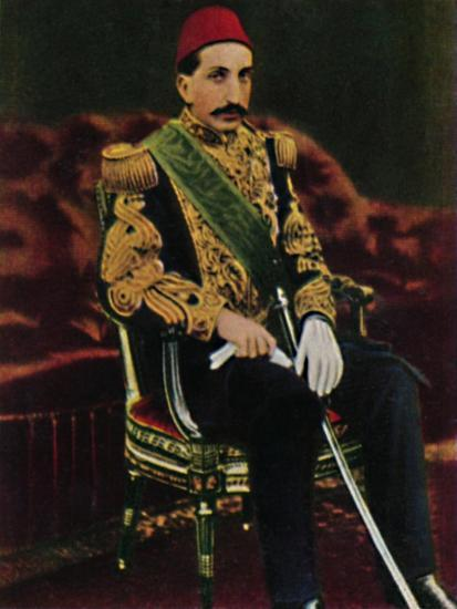 'Sultan Abdul Hamid 1842-1918', 1934-Unknown-Giclee Print