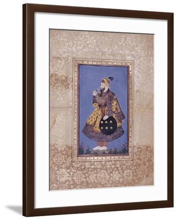 Sultan Abu'l-Hasan of Golconda, Late 17th Century--Framed Giclee Print