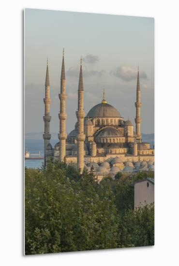Sultan Ahmet Camii, the Blue Mosque-Guido Cozzi-Metal Print