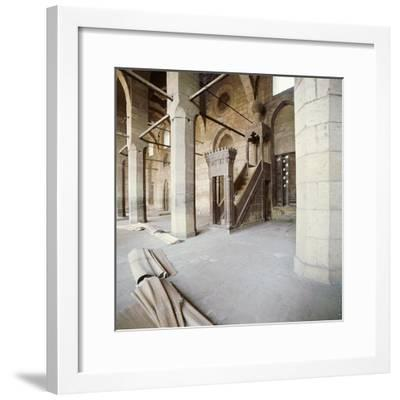 Sultan Hasan mosque-Werner Forman-Framed Giclee Print