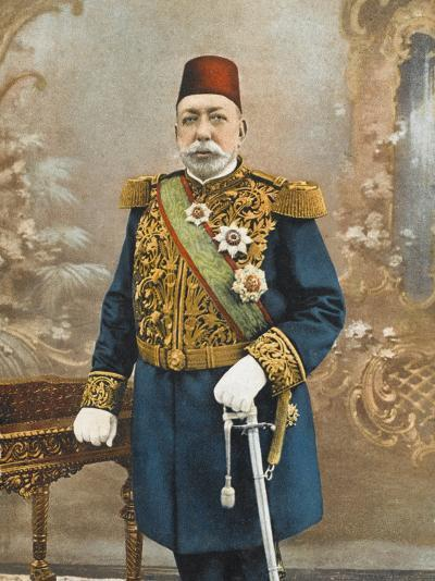 Sultan Mehmed V Reshad of Turkey--Photographic Print