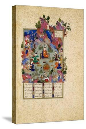 The Feast of Sada. from the Shahnama (Book of King), C. 1525