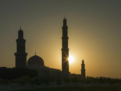 Sultan Quaboos Great Mosque, Muscat, Oman, Middle East-Angelo Cavalli-Photographic Print