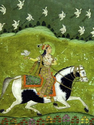 Sultan Razia of Delhi, 18th Century, Archaeological Museum, Red Fort, Delhi, India, Asia-Peter Barritt-Photographic Print