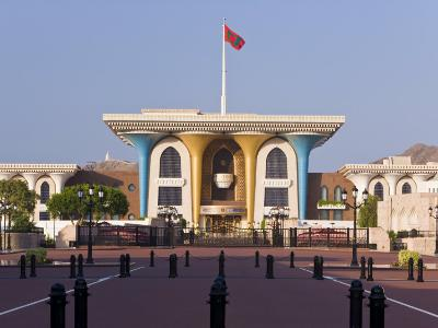 Sultan's Palace, Muscat, Oman, Middle East-Gavin Hellier-Photographic Print
