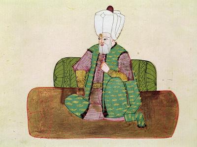 Sultan Suleyman I--Giclee Print