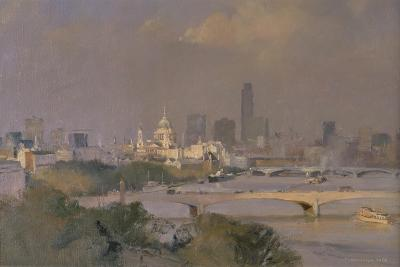 Sultry Afternoon in August, King's Reach, 1988-Trevor Chamberlain-Giclee Print