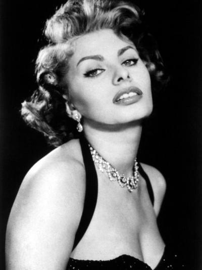 Sultry Sophia Loren Publicity Pose Promotion for Pride and the Passion, 1957--Photo
