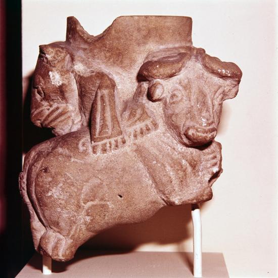 Sumerian Libartion Vase from Uruk (Warka), Southern Iraq, c2900 BC-Unknown-Giclee Print
