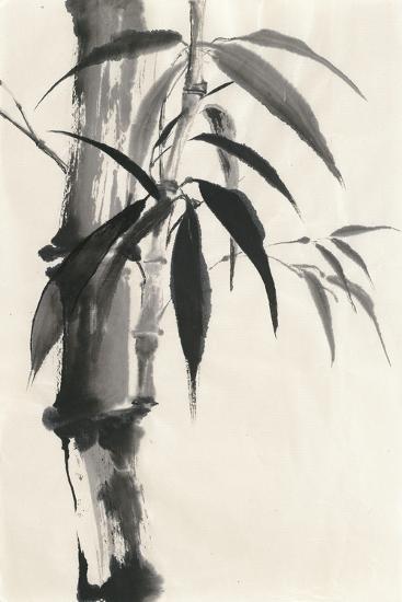 Sumi Bamboo Cream-Chris Paschke-Art Print