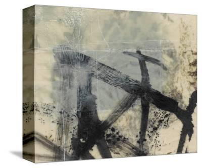 Sumi-e and Wax I-Jennifer Goldberger-Stretched Canvas Print