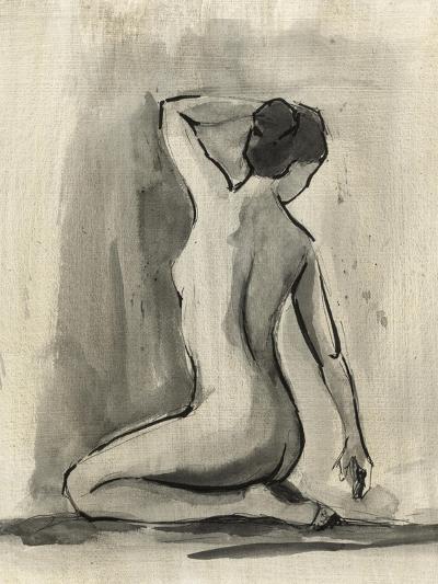 Sumi-e Figure I-Ethan Harper-Art Print