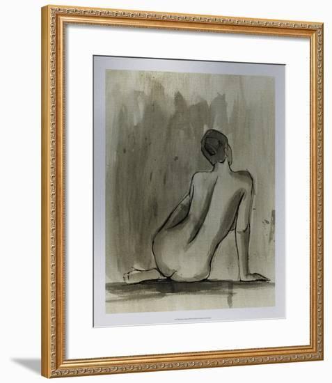 Sumi-e Figure II-Ethan Harper-Framed Premium Giclee Print