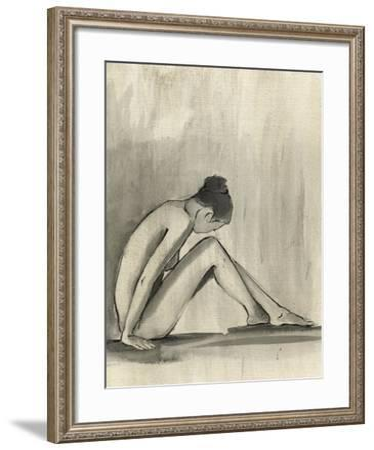 Sumi-e Figure III-Ethan Harper-Framed Art Print