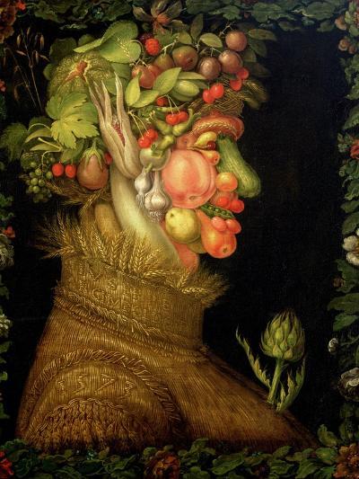 Summer, 1573-Giuseppe Arcimboldo-Giclee Print