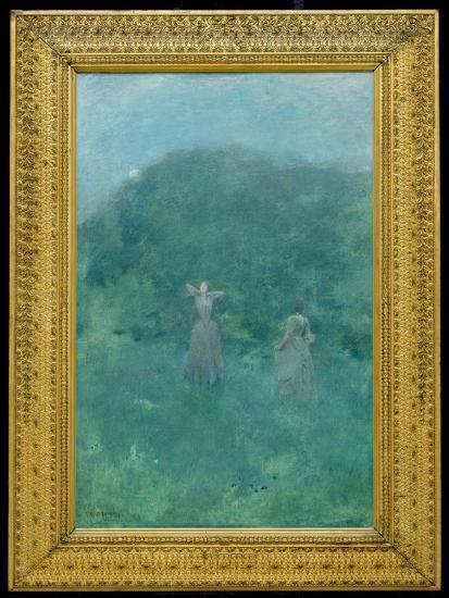Summer, 1893-Thomas Wilmer Dewing-Giclee Print