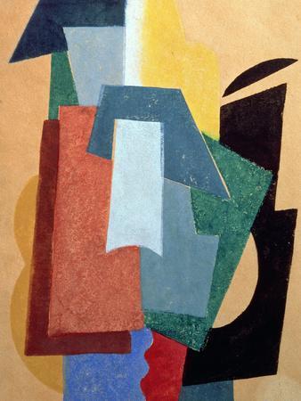 Summer, 1917-18-Liubov Sergeevna Popova-Giclee Print