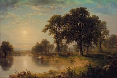 Summer Afternoon, 1865-Asher Brown Durand-Giclee Print