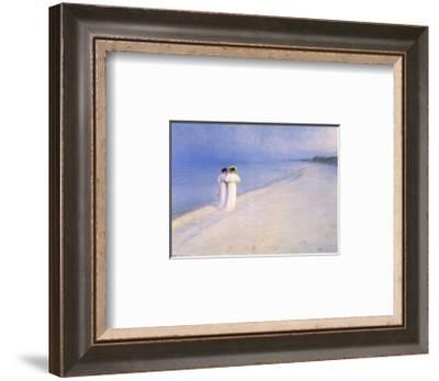 Summer Afternoon on Scagen Beach--Framed Art Print