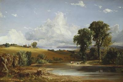 Summer Afternoon on the Hudson, 1852-Jasper Francis Cropsey-Giclee Print