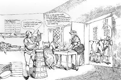 Summer Amusement at Farmer G----'s Near Windsor, 1786--Giclee Print