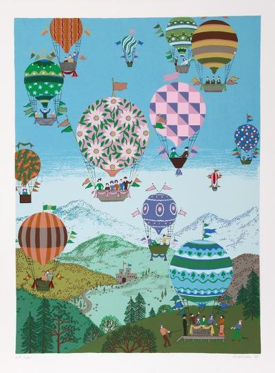 Summer Balloons-Jack Hofflander-Limited Edition