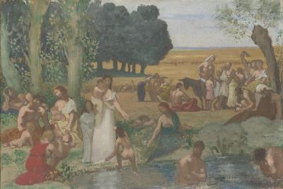 Summer, before 1873-Pierre C?cil Puvis de Chavannes-Giclee Print