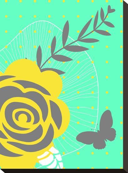 Summer Blooms-Ramneek Narang-Stretched Canvas Print