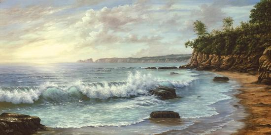 Summer Blue Sea-Keith Cast-Giclee Print