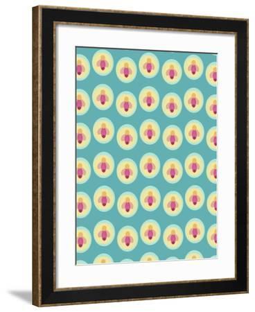 Summer Bugs-Rachel Gresham-Framed Giclee Print