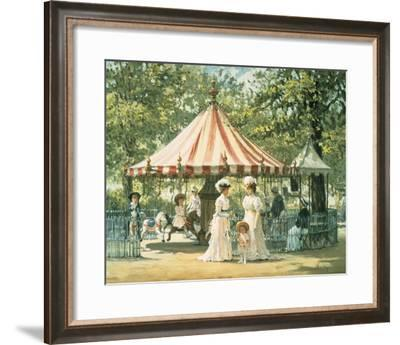 Summer Carousel-Alan Maley-Framed Giclee Print