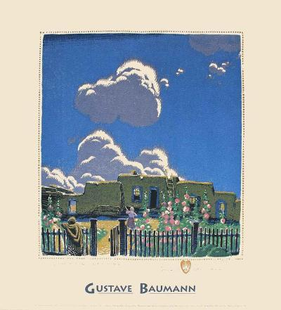 Summer Clouds-Gustave Baumann-Art Print