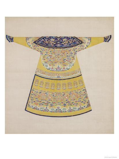 Summer Court Robe Worn by the Emperor, China--Giclee Print