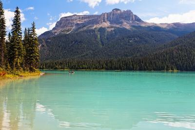 Summer Day at Emerald Lake, Canada-George Oze-Photographic Print