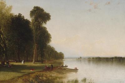 Summer Day on Conesus Lake, 1870-John Frederick Kensett-Giclee Print