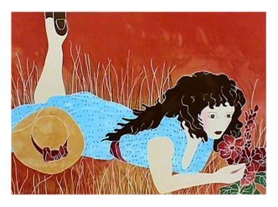 Summer Day-Gina Lombardi Bratter-Collectable Print