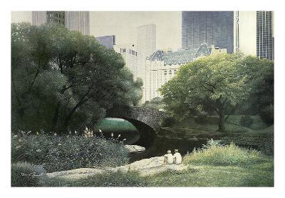 Summer Days-Diane Romanello-Art Print