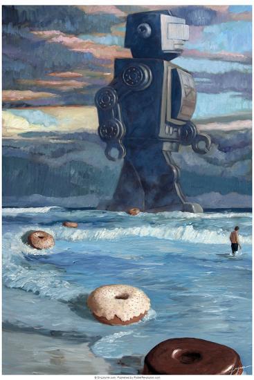 Summer - Eric Joyner Poster-Eric Joyner-Poster