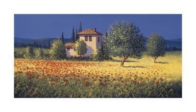 Summer Fields I-David Short-Giclee Print
