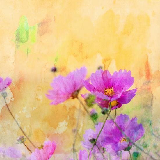 Summer Flower 3 - Square-Lebens Art-Art Print