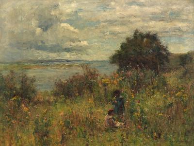 Summer Flowers, C.1913-Joshua Anderson Hague-Giclee Print