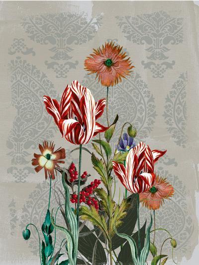 Summer Flowers II-Ken Hurd-Art Print