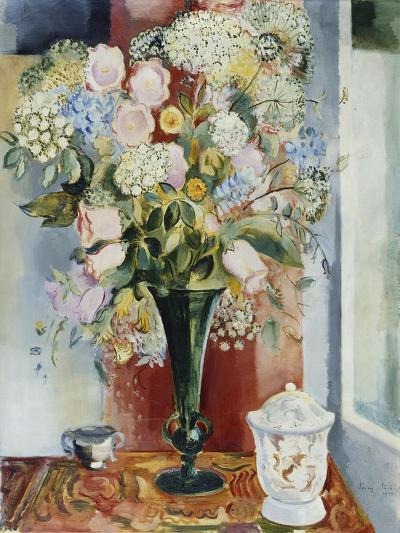 Summer Flowers in a Vase-Arthur Percy-Giclee Print