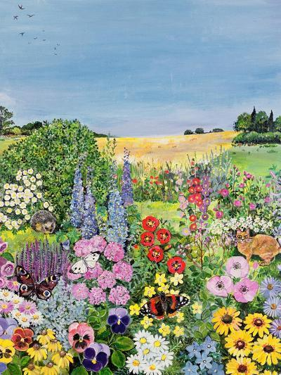 Summer from the Four Seasons (One of a Set of Four)-Hilary Jones-Giclee Print