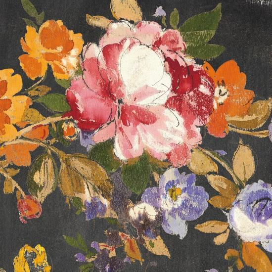 Summer Garden III Black-Wild Apple Portfolio-Art Print