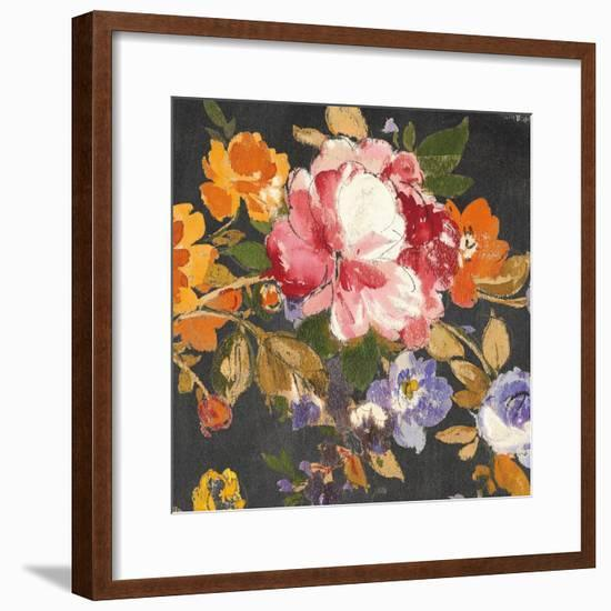 Summer Garden III Black-Wild Apple Portfolio-Framed Art Print