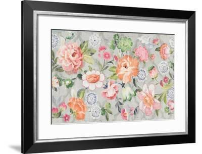 Summer Garden of Delights Gray-Danhui Nai-Framed Art Print