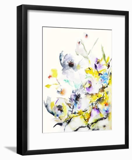 Summer Garden V-Karin Johannesson-Framed Art Print