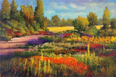 Summer Garden-James McIntosh Patrick-Art Print